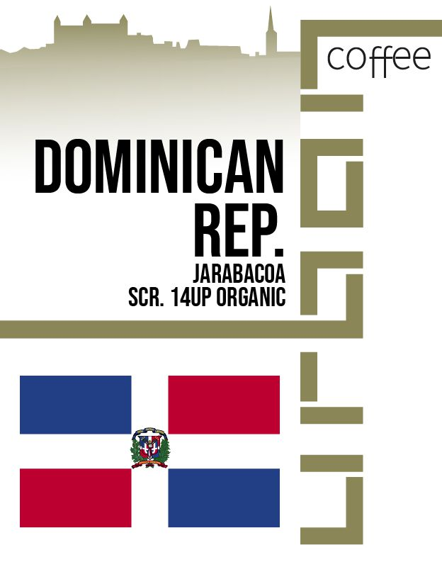 Dominican Republic Jarabacoa scr. 14up organic