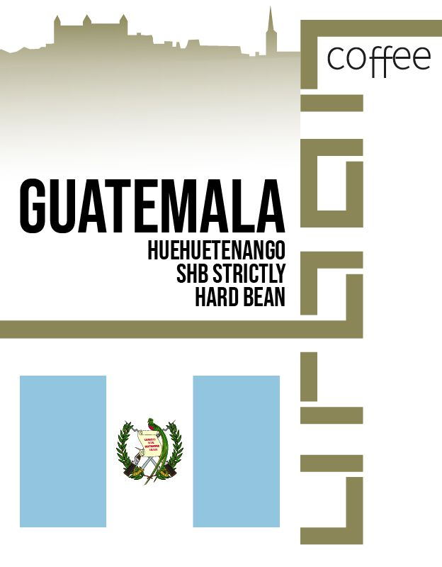 Guatemala Huehuetenango SHB Strictly Hard Bean